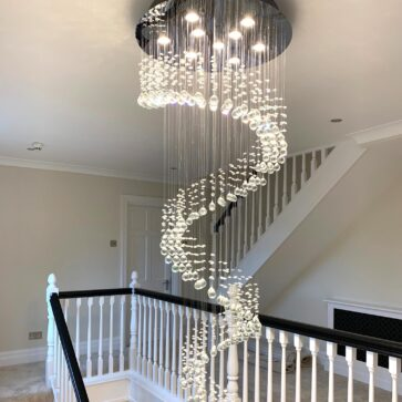 Kingswood Surrey Hills – Complete Redecoration of Staircase in Farrow & Ball